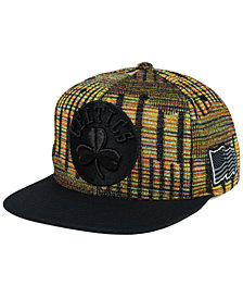 Mitchell & Ness Boston Celtics Black Flag Snapback Cap