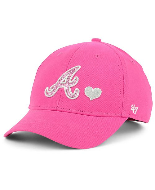 '47 Brand Girls' Atlanta Braves Sugar Sweet MVP Cap