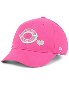 '47 Brand Girls' Cincinnati Reds Sugar Sweet MVP Cap