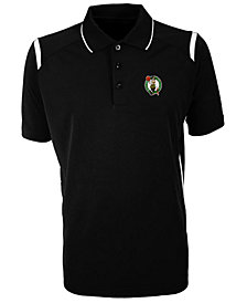 Antigua Men's Boston Celtics Merit Polo Shirt