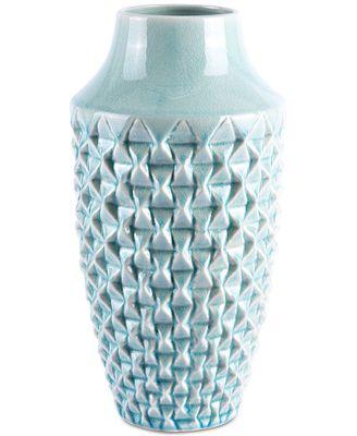 Zuo Brick Light Teal Medium Vase