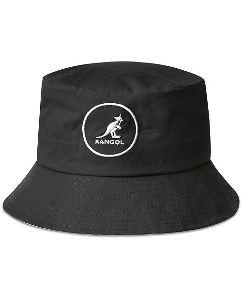 Kangol Men s Cotton Bucket Hat - Hats f6f4be56c7e