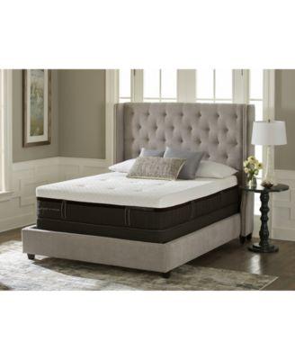 Lux Estate Hybrid Morningview Luxury Cushion Firm Mattress Set - Twin XL