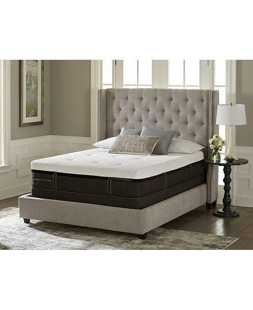 Stearns Foster Lux Estate Hybrid Morningview Luxury Cushion Firm Mattress Collection