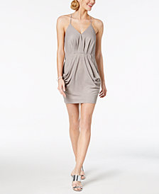 BCBG Draped A-Line Dress