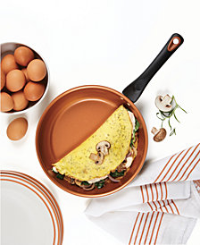 "Farberware Glide Copper Ceramic Non-Stick 10"" Skillet"