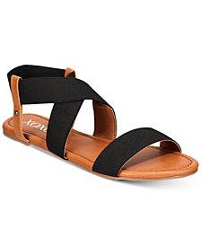 XOXO Gonzalo Strappy Flat Sandals