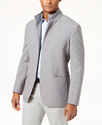 Alfani Men's Mini Chevron Blazer