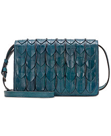 Patricia Nash Feather Leaves Lanza Crossbody