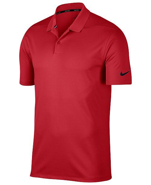 4faa321df Nike Men s Dry Victory Golf Polo   Reviews - Polos - Men - Macy s