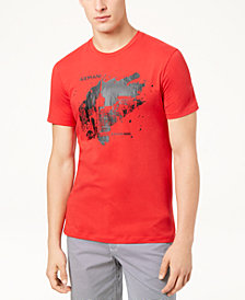 A|X Armani Exchange Men's Paint Blot Logo T-Shirt