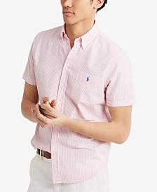 Polo Ralph Lauren Men's Classic Fit Seersucker Shirt