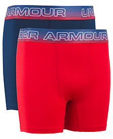 Under Armour Little & Big Boys 2-Pk. Boxer-Brief Underwear