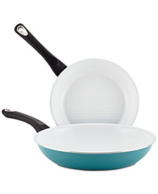 Farberware PURECOOK 2-Pc. Ceramic Non-Stick Cookware Skillet Set