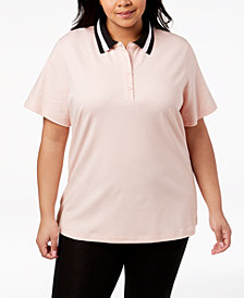 Calvin Klein Performance Plus Size Polo
