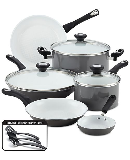 Farberware PURECOOK 12-Pc. Ceramic Non-Stick Cookware Set