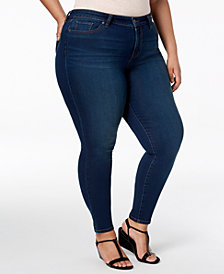 Style & Co Plus Size Ultra-Skinny Jeans, Created for Macy's