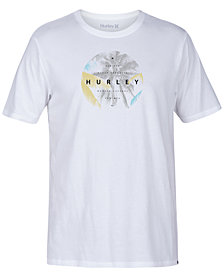 Hurley Men's Palm Drama Logo-Print T-Shirt