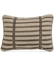 "Croscill Nerissa 19"" x 13"" Boudoir Decorative Pillow"