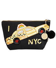 Bow & Drape Taxi NYC Pouch