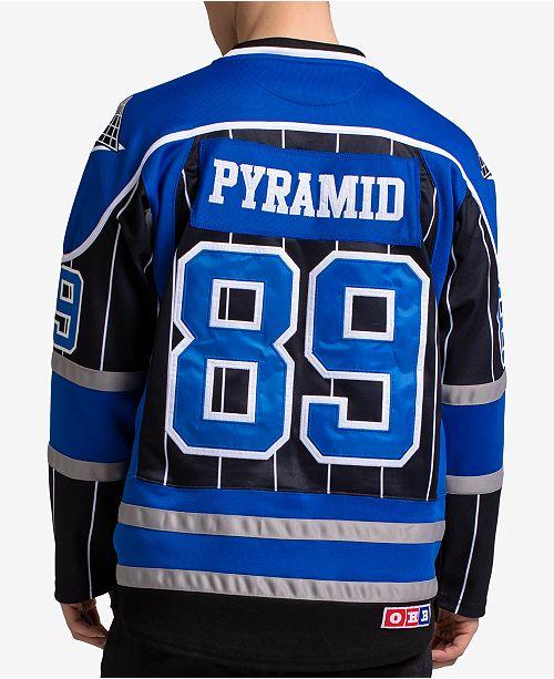Black Pyramid Men s Printed Hockey Jersey - Hoodies   Sweatshirts ... d36b42b6c