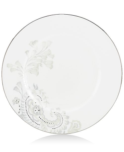 Marchesa by Lenox Dinnerware, Paisley Bloom Accent Salad Plate