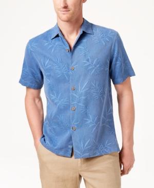 7e08ac4d Tommy Bahama Men'S Luau Floral Shirt In Dark Blue | ModeSens