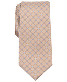 Nautica Men's Mylne Grid Silk Tie