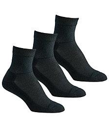 Berkshire Women's 3-Pk. Diabetic Comfort Quarter Socks 5114
