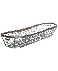 Tabletops Unlimited Long Bread Basket