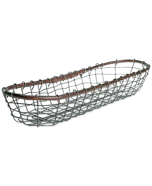 Tabletops Unlimited Long Bread Basket