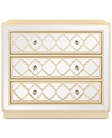 Amelia 3-Drawer Chest, Quick Ship