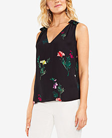 Vince Camuto Tropical Garden Sleeveless Blouse
