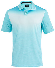 Greg Norman For Tasso Elba Men's Ombré Chevron Polo, Created for Macy's