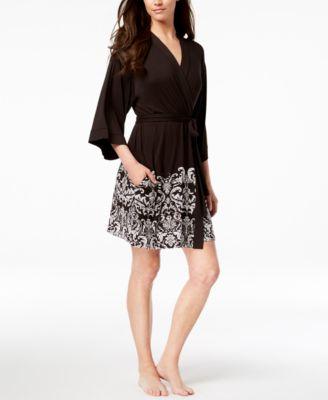 I.N.C. Printed Wrap Robe, Created for Macy's