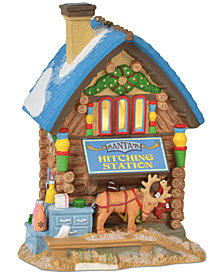 Department 56 Villages Santa's Hitching Station