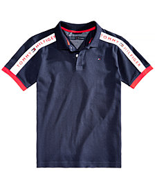 Tommy Hilfiger Big Boys Frank Cotton Polo