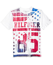 Tommy Hilfiger Big Boys Graphic-Print Cotton T-Shirt