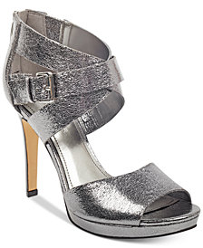 Marc Fisher Marnia Crossband Dress Sandals