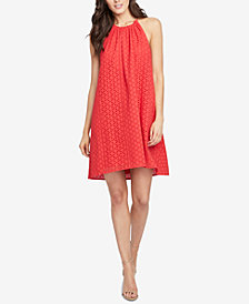 RACHEL Rachel Roy Cotton Sabine Eyelet Swing Dress, Created for Macy's