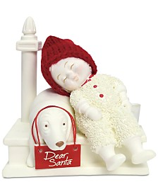 Department 56  Snowbabies Waiting For Santa Figurine