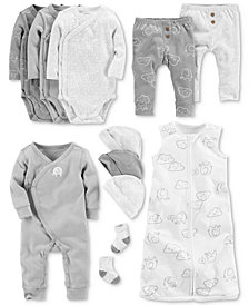 Carter's Baby Boys Elephant-Print Layette Separates
