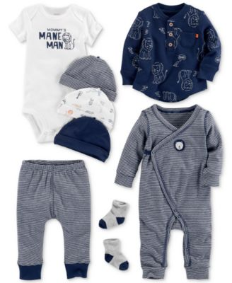 Carter s Baby Boys 3-Pc. Printed Cotton Top 9a74ddf7f