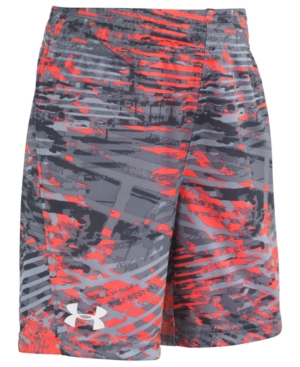 Under Armour Little Boys Printed Vertico Boost Shorts