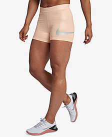 Nike Pro Rise Pack Metallic Shorts