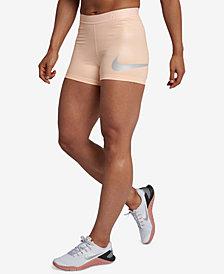Nike Pro Rise Pack Metallic Shorts