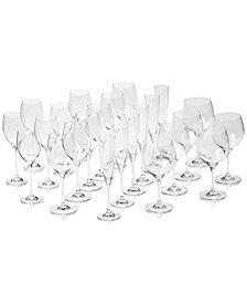 Villeroy & Boch Maxima Set of 24 Crystal Stemware, Service for 6