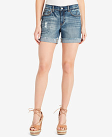 Jessica Simpson Juniors' Mika Best Friend Denim Shorts