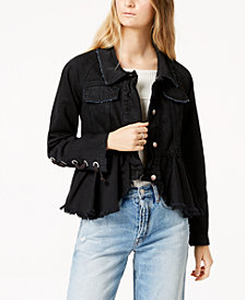 Free People Willow Cotton Denim Jacket