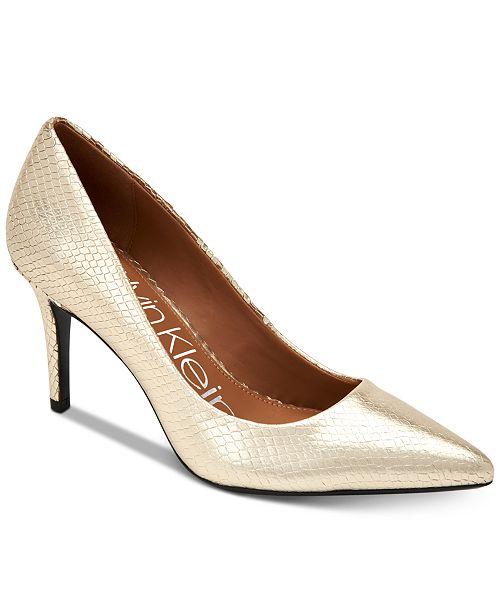 cb86d66a5d1b0 Calvin Klein Women's Gayle Pointed-Toe Pumps & Reviews - Pumps ...